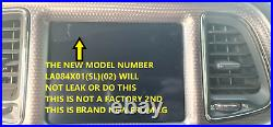 18-19 RAM 8.4 Replacement Uconnect LCD MONITOR Touch-Screen Radio Navigation 4C