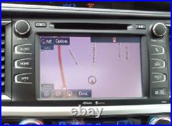2014-2018 Toyota Highlander OEM GPS Navigation Radio TOUCH SCREEN LCD Screen 8