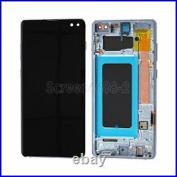 Für Samsung Galaxy S10+ Plus G975F LCD Display Touch Screen Bildschirm Schwarz