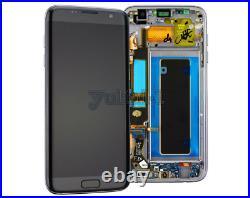 Für Samsung Galaxy S7 EDGE SM-G935F LCD Display Touchscreen Bildschirm Schwarz